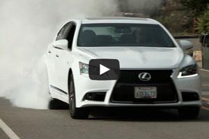 Lexus LS F SPORT Video