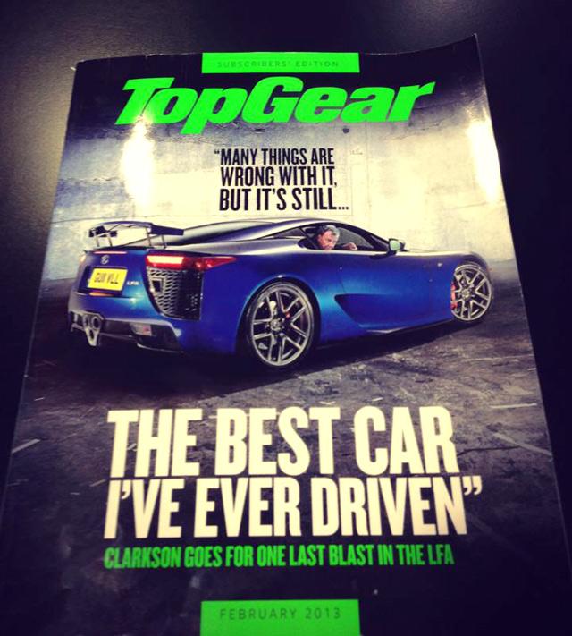 Jeremy Clarkson Lexus Lfa Best Car