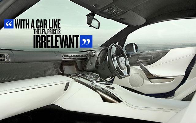 Jeremy Clarkson Lexus LFA