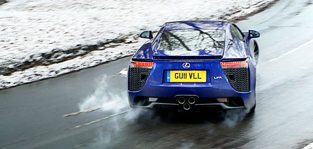 Lexus LFA Top Gear Contest