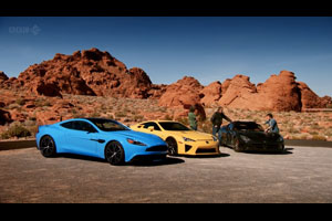 Lexus LFA on Top Gear