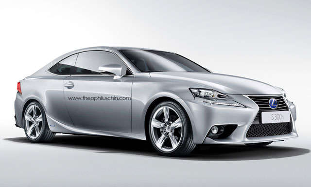 Lexus IS Coupe Front