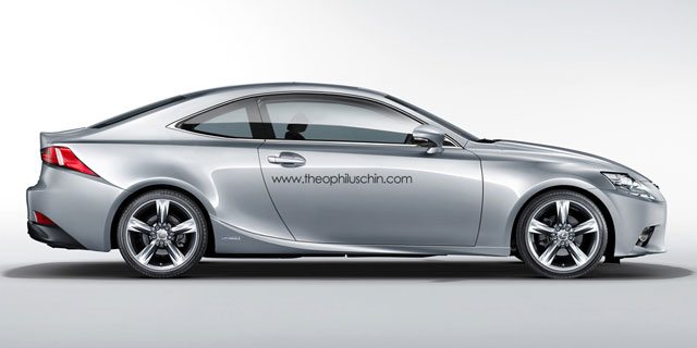 Lexus IS Coupe Side