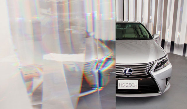 Lexus HS Art Installation