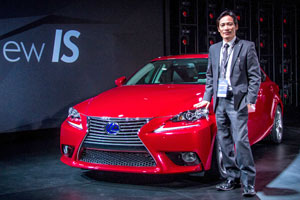 Lexus IS Chief Engineer Furuyama