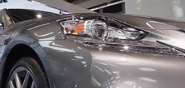 Lexus IS Chromed Headlight Washers