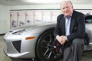 Lexus LFA Owner Roy Mallady