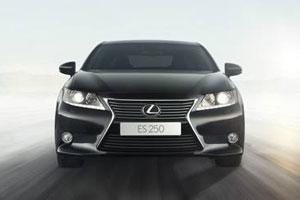 Lexus ES Russia Golden Klaxon