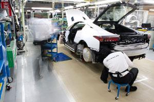 Lexus LFA Works in Japan
