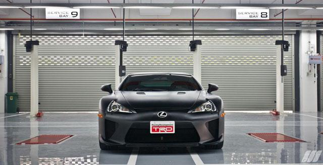 Matte Black Lexus LFA in Malaysia