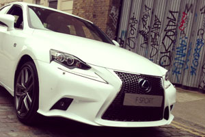 2014 Lexus IS in UK