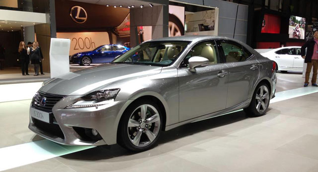 Lexus IS in Titanium Metallic