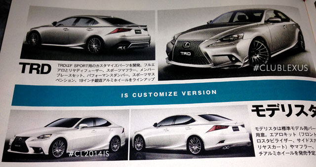 Lexus IS Modellista & TRD Body Kits