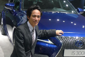 Lexus IS Chief Engineer Junichi Furuyama