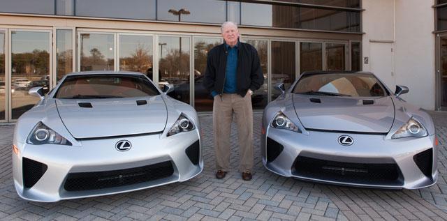 Lexus LFAs #3 & #499
