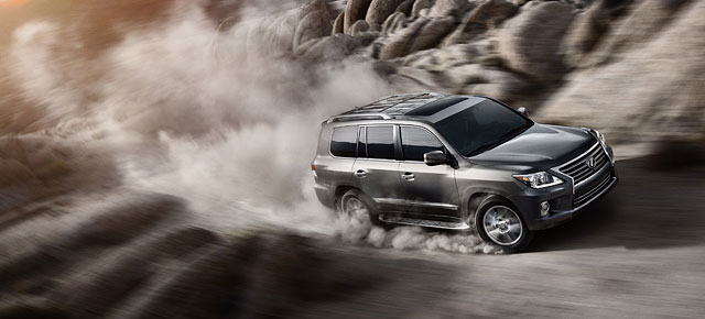 Lexus LX in the Middle East