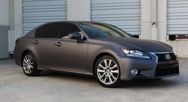 Lexus GS Matte Grey