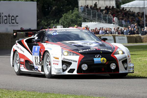 Lexus at the Goodwood Festival of Speed