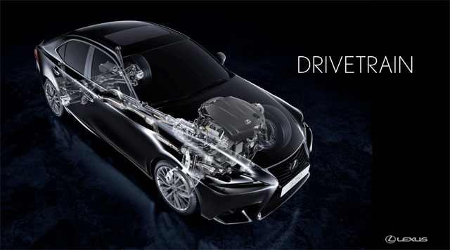 Lexus IS Drivetrain Options