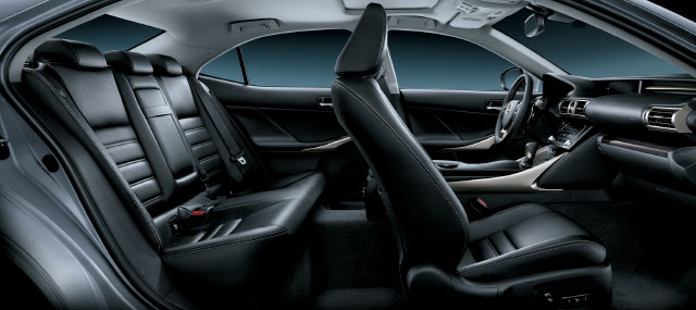Lexus IS Interior Seats