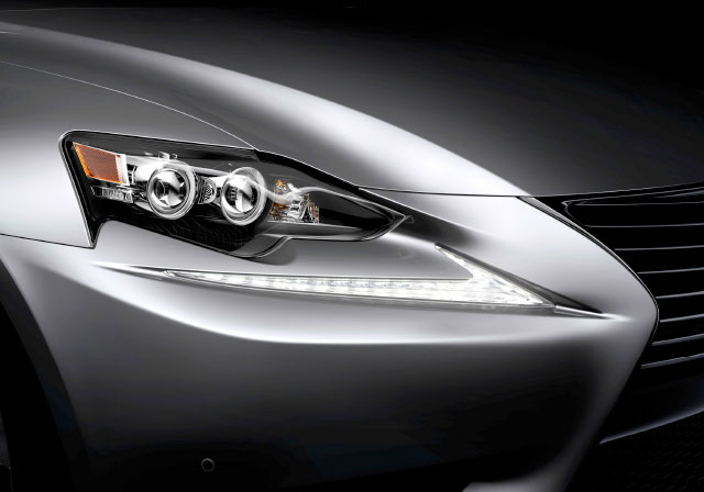 Lexus IS LED Headlights