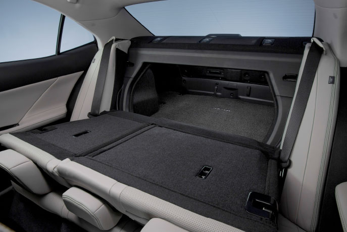 Lexus Is Rear Folding Seats