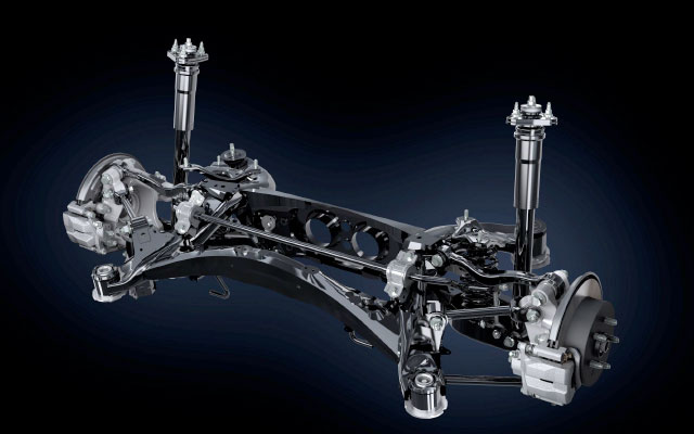 Lexus IS Rear Suspension