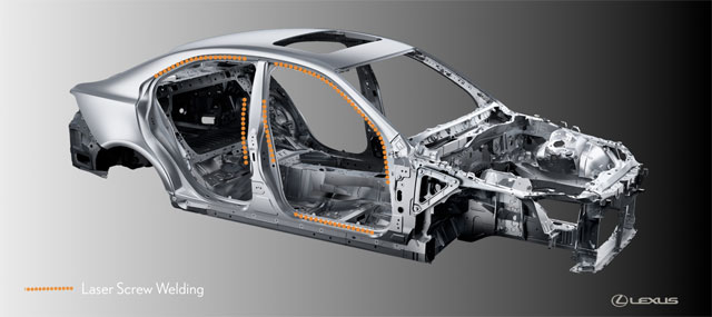 Lexus IS Laser Screw Welding