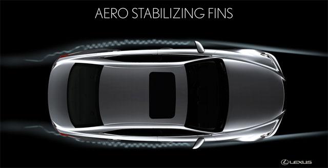 Lexus IS Rear Stabilizer Fins