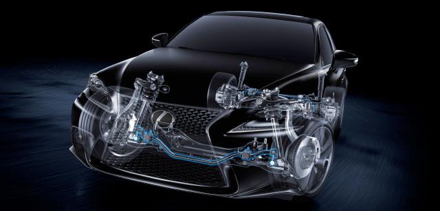 Lexus IS Suspension