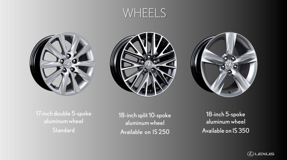 Lexus Is Wheel Options