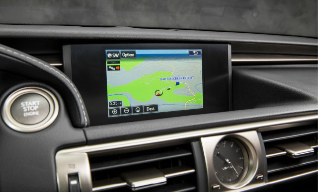 Lexus IS 7 inch VGA Display