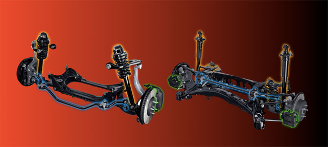 Lexus IS Adaptive Variable Suspension