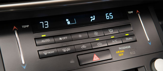 Lexus IS Capacitive Touch Controllers