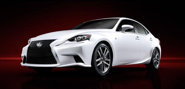 Lexus IS F SPORT Front Grille