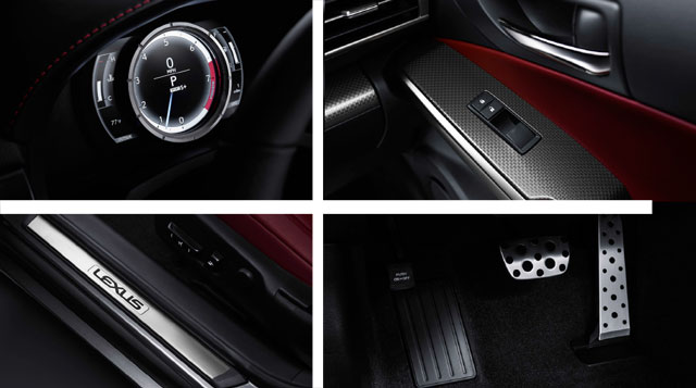 Lexus IS F SPORT Interior Details