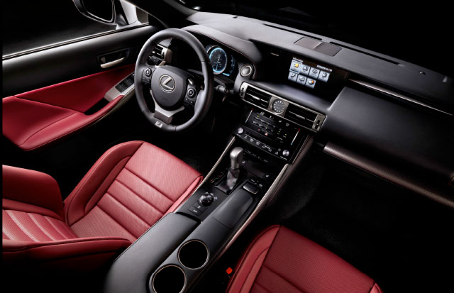 Lexus IS F SPORT Interior