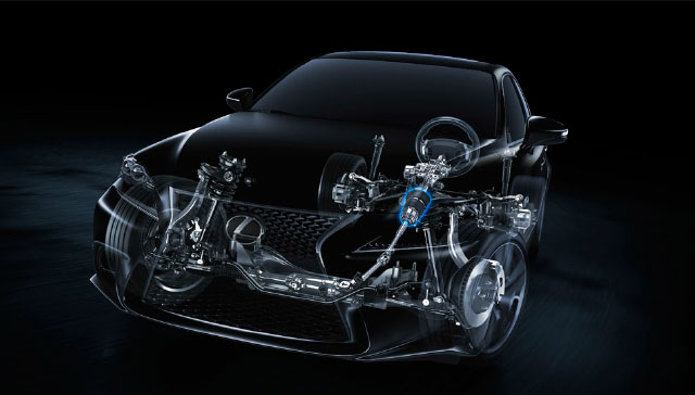 Lexus IS Variable Gear Ratio Steering