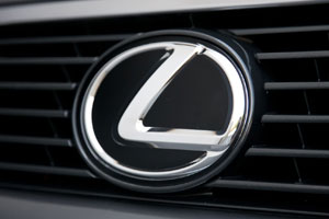 Lexus Logo in Black & White
