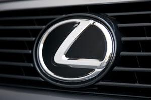 Lexus Logo in Black & White