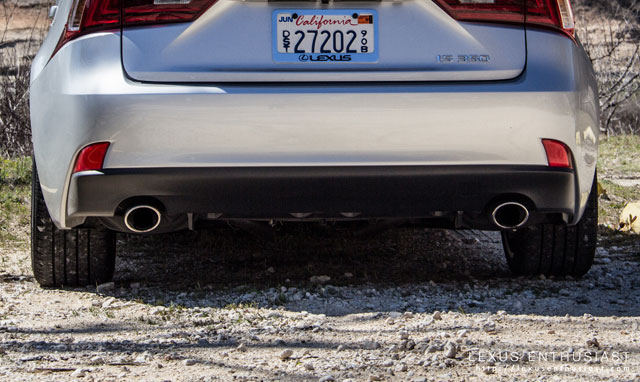Lexus IS Devil Horns