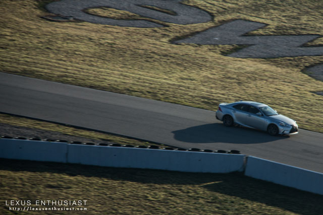 Lexus IS at Driveway Austin