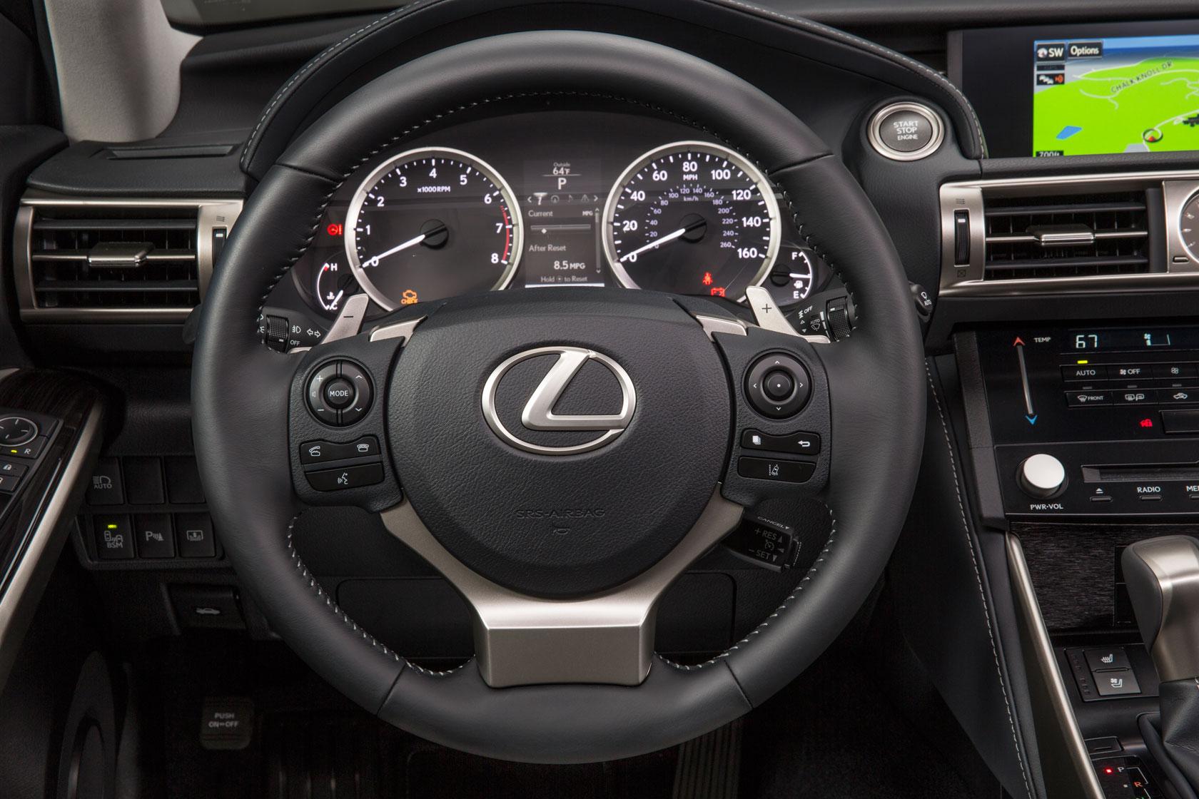 lexus is steering wheel. Black Bedroom Furniture Sets. Home Design Ideas