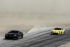 Lexus LFA Dust Storm