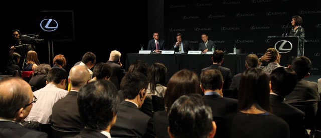 Lexus Press Conference