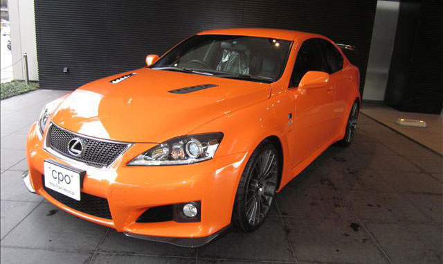 Lexus IS F CCS-P CPO