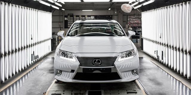 Lexus ES Production