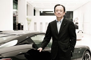Lexus International President Kiyotaka Ise
