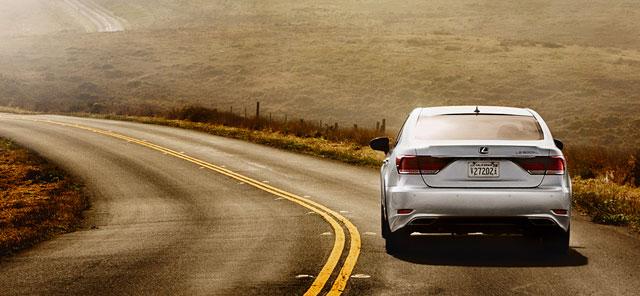 Lexus LS Beyond Magazine: The Road