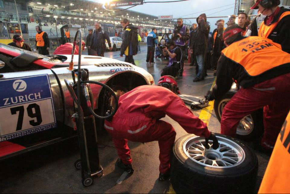Lexus LFA Rain Tires